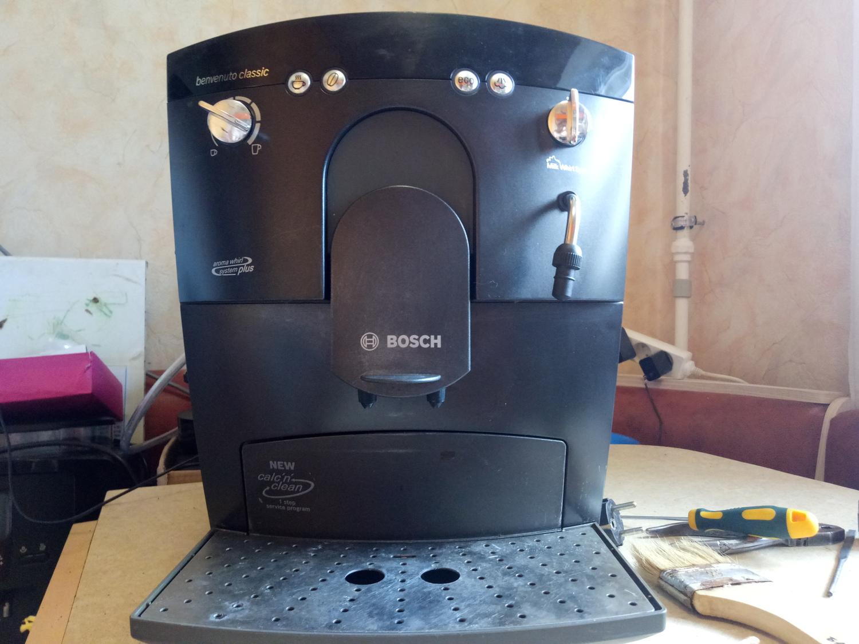 Кофемашина bosch ремонт своими руками 653